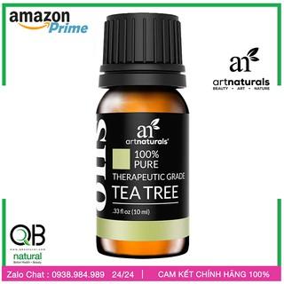 Tinh dầu Tea Tree Oil  - Tinh Dầu Trà Tràm đa công dụng Kháng khẩn - Xông Phòng - Trị Mụn   Artnaturals 10ml