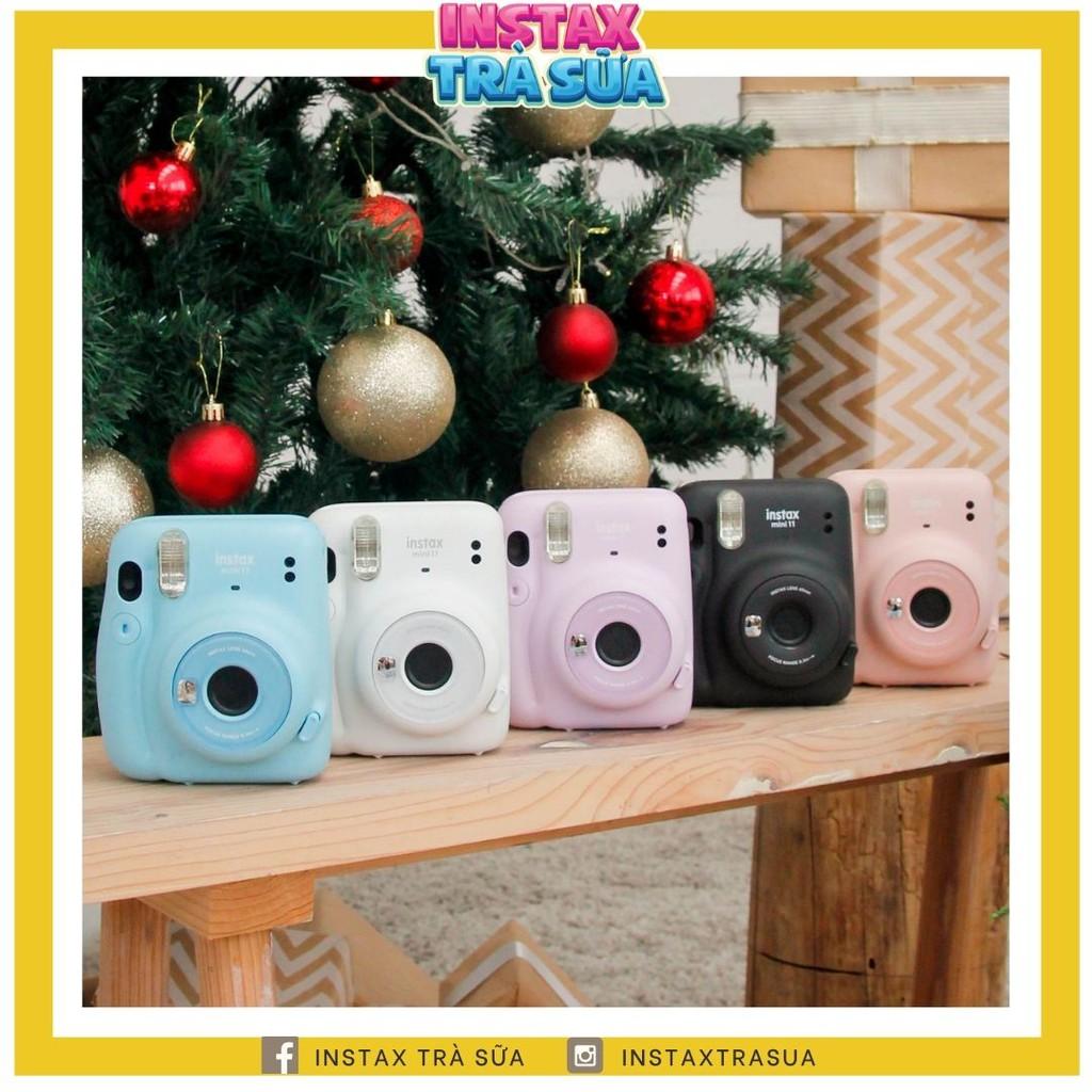 Instax Mini 11 - Máy ảnh lấy ngay Fujifilm - Chính hãng BH 1 năm - Tặng kèm 10 film