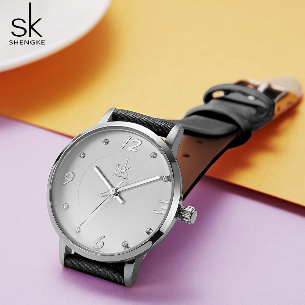 Đồng hồ thạch anh nữ phong cách thời trang hiện đại Shengke