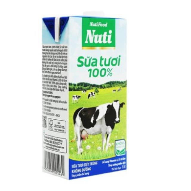 Sữa tươi tiệt trùng NutiFood 1L - 2502738 , 932673918 , 322_932673918 , 45000 , Sua-tuoi-tiet-trung-NutiFood-1L-322_932673918 , shopee.vn , Sữa tươi tiệt trùng NutiFood 1L