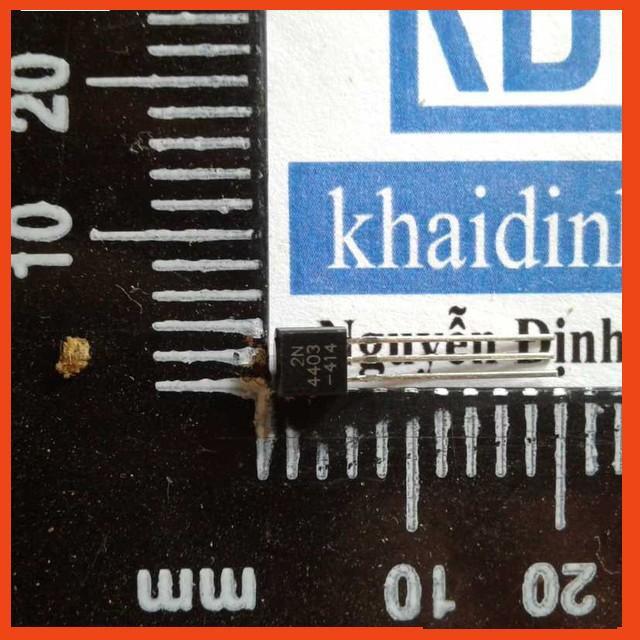 [Rẻ Nhất] 2N4403 4403 PNP trans TO-92 0.6A 40V (gói 50 con) KDE0190 Rẻ Nhất.