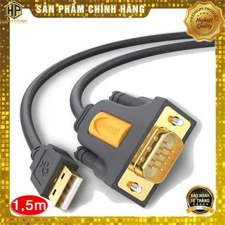 Cáp USB to Com RS232 DB9 Ugreen 20211 dài 1.5m chính hãng - HapuStore thumbnail