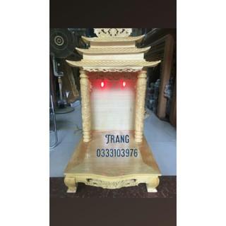 Bàn Thờ Thần Tài Mái Chùa (nhiều kích thước )