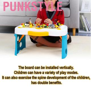 Punkstyle Children Building Blocks Bricks Toy Learning and Game Multi Activity Table Fits for LEGO
