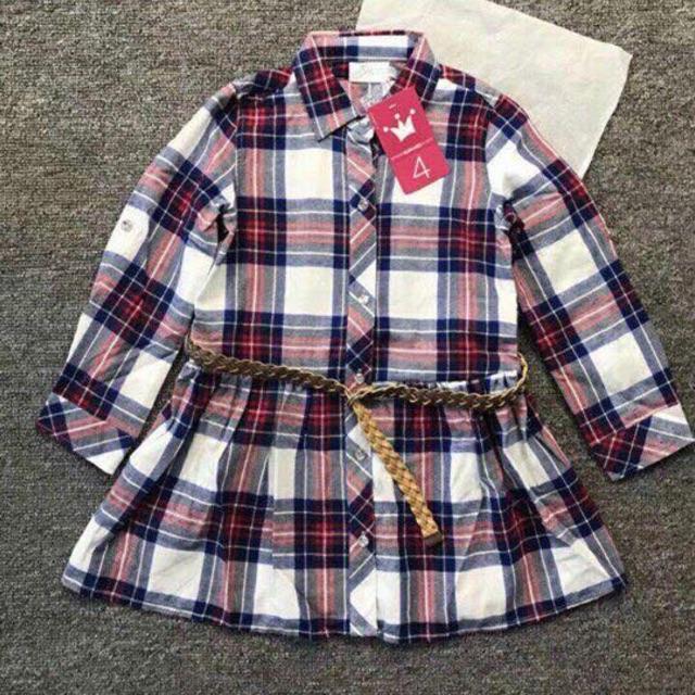 Áo váy bé gái 130k(Giảm 20%)=104k