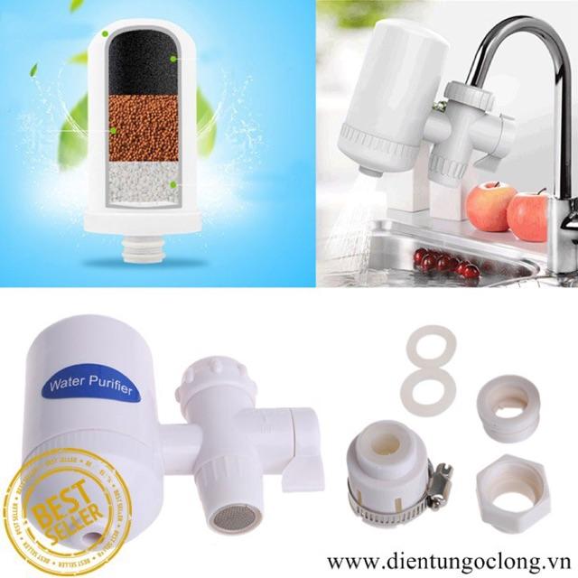 Bộ Lọc Nước Tại Vòi Water Purifier S-W-S Có Lõi Lọc An Toàn