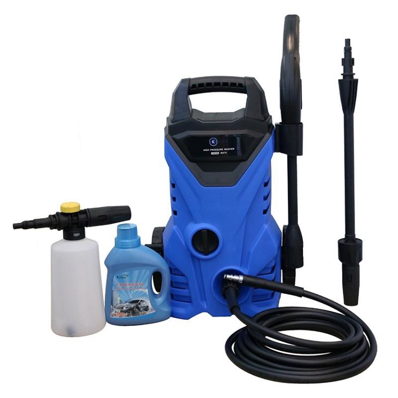 [Mã HLBEST1111 giảm 15% đơn 99K] Máy xịt rửa bọt tuyết Kachi MK74 - 1400W - Màu xanh dương
