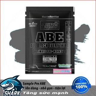 Gói Thử Sample Applied Nutrition ABE Pre workout 1 lần dùng(11 Gram) Chính Hãng