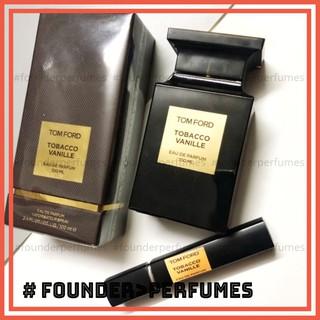 [S.A.L.E] Nước hoa dùng thử Tom Ford Tobacco Vanille Test 10ml 20ml .founderperfume thumbnail