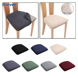 Loviver Dining Room Chair Seat Covers Chair Covers for Dining Room Kitchen Chair Covers Slipcovers Office Banquet House Chair Protectors