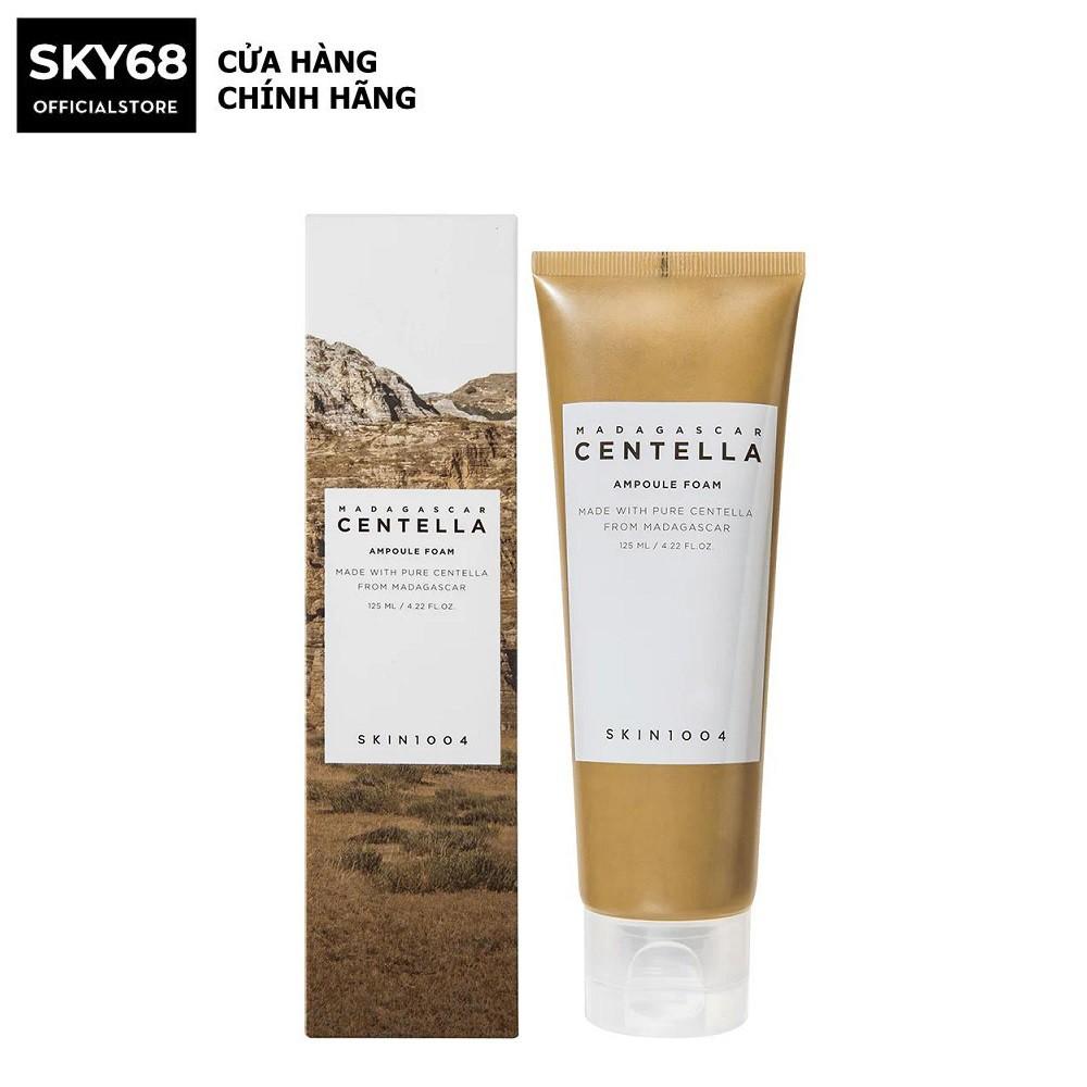 [Mã FMCGMALL giảm 8% đơn từ 250K] Sữa Rửa Mặt Dưỡng Ẩm Và Làm Sạch Da Skin1004 Madagascar Centella Ampoule Foam 125ml