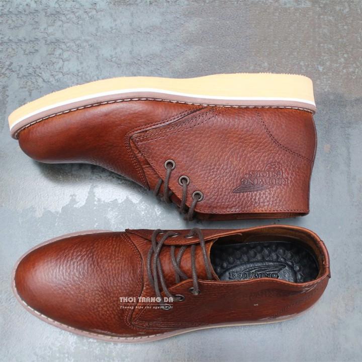 [XẢ KHO HÀNG] Giày nam da thật REDWING trẻ trung, năng động - CC24