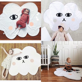Soft cotton carpet for children to play
