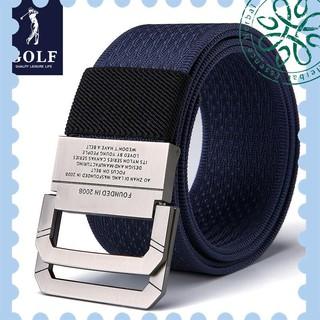 ( Mới ) Thắt Lưng Vải canvas Khóa Hợp Kim Thời Trang Cho Nam Chơi golf thumbnail