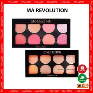 Bảng Má Revolution Makeup Ultra Blush Palette phấn má highlight tạo khối (Bill Anh) thumbnail