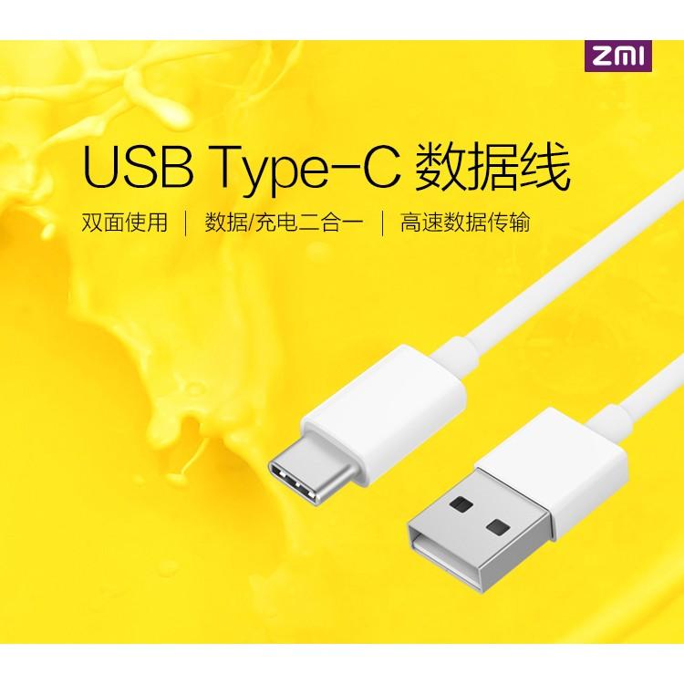 Cáp sạc Type C cao cấp Xiaomi-ZMI dài 100cm