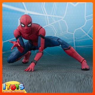 Người nhện SpiderMan khoác balo – Đồ chơi mô hình nhân vật SpiderMan