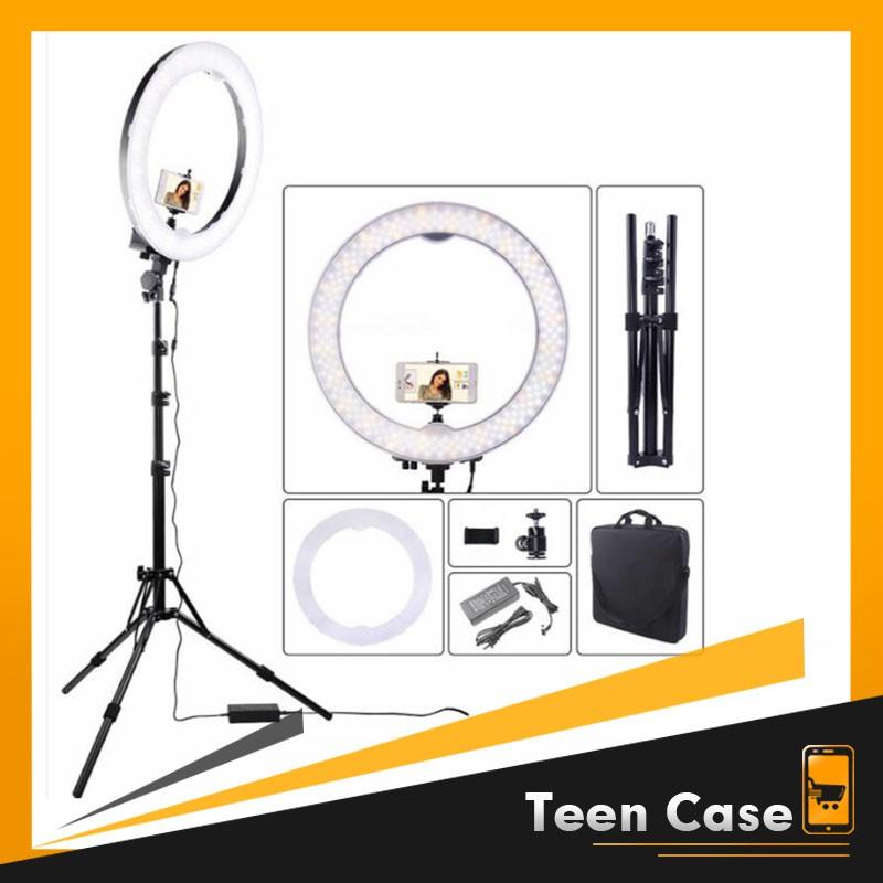 2. Đèn Livestream size 26 30 36 45 cm và chân 2m1 kèm điều khiển