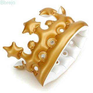 durable birthday PVC decor 310mm x 195mm Brown 45g/ Each The Day Novelty Party Favour Night Inflatable Imperial Crown