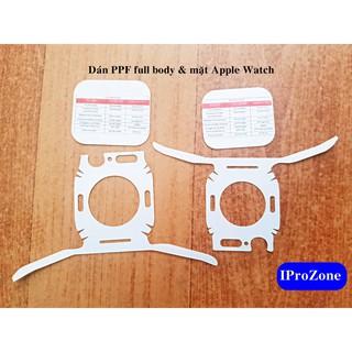 Tấm dán PPF Full mặt và body 360 dành cho Apple Watch
