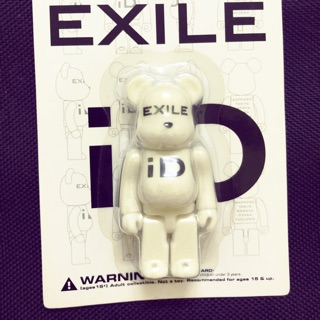 Bearbrick exile id 100%