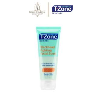 Kem Tẩy Da Chết T-ZONE Giảm Mụn Đầu Đen Tinh Chất Tràm Trà Blackhead Fighting Facial Scrub 75ml thumbnail