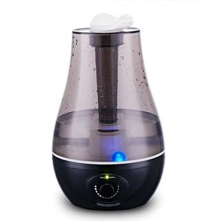 Máy phun sương siêu âm 3 lít Connie tạo độ ẩm làm mát phòng tiết kiệm điện hai màu đen, xanh thumbnail