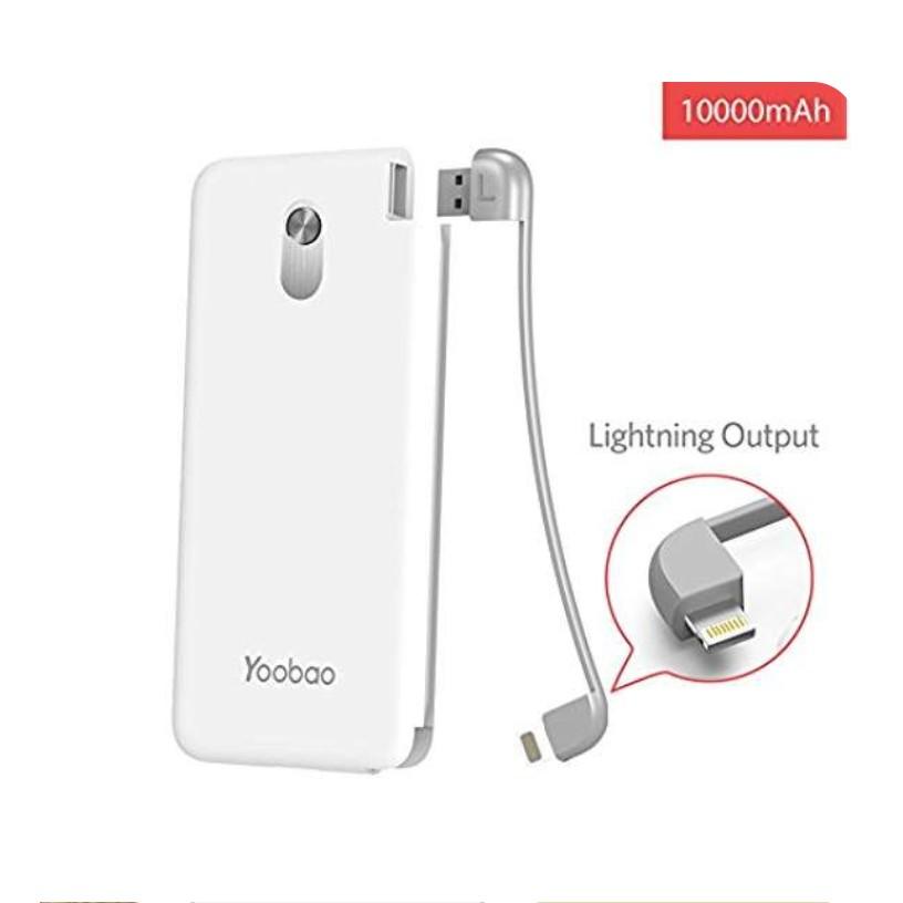 Combo bộ sản phẩm Pin sạc dự phòng + Dock sạc nam châm - YOOBAO YB-S10K Share dung lượng 10000mAh - Chính Hãng