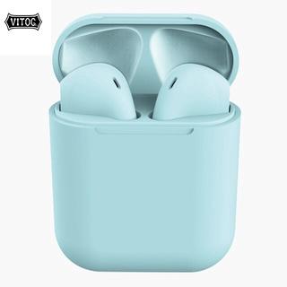 Tai Nghe Vitog Inpods12 I12 Thể Thao Kết Nối Bluetooth 5.0 Không Dây