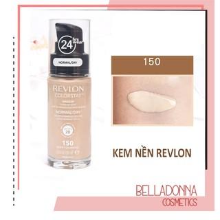 Kem nền che phủ hoàn hảo Revlon Colorstay Makeup Normal Dry Skin SPF 20 150 Buff Chamois thumbnail