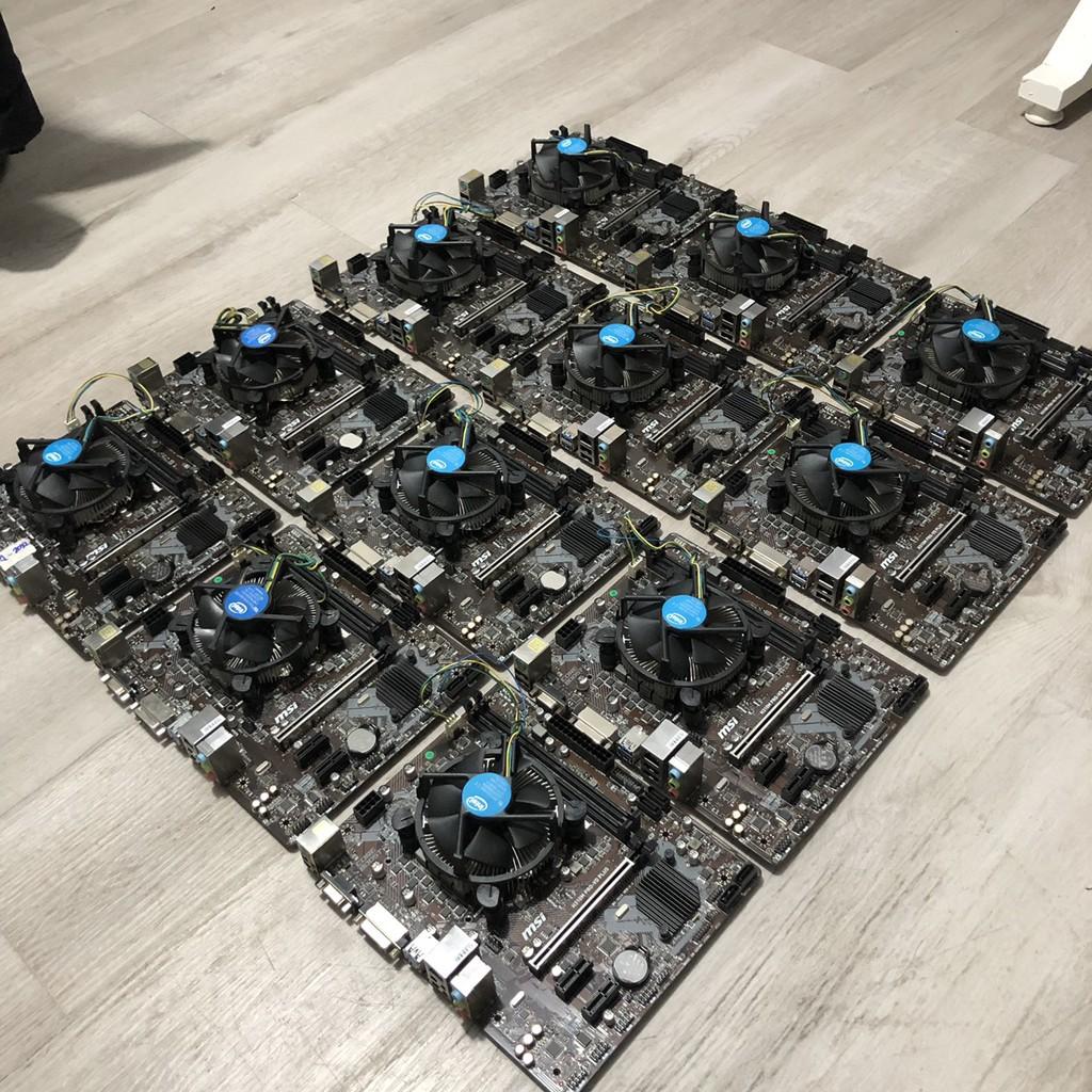 [Mã ELMS05 giảm 5% đơn 300k]Combo Main - CPU MSI H310 - I3 9100F Bảo Hành Mai Hoàng 8-2022