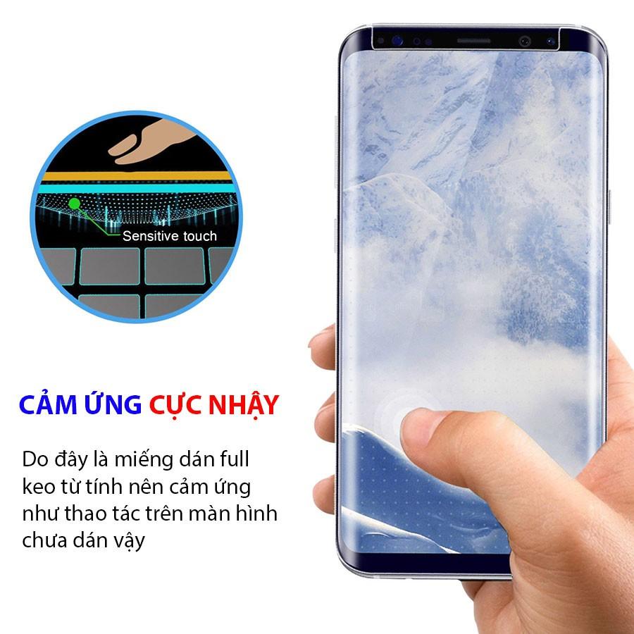 Kính cường lực Full keo UV Galaxy S7Edge