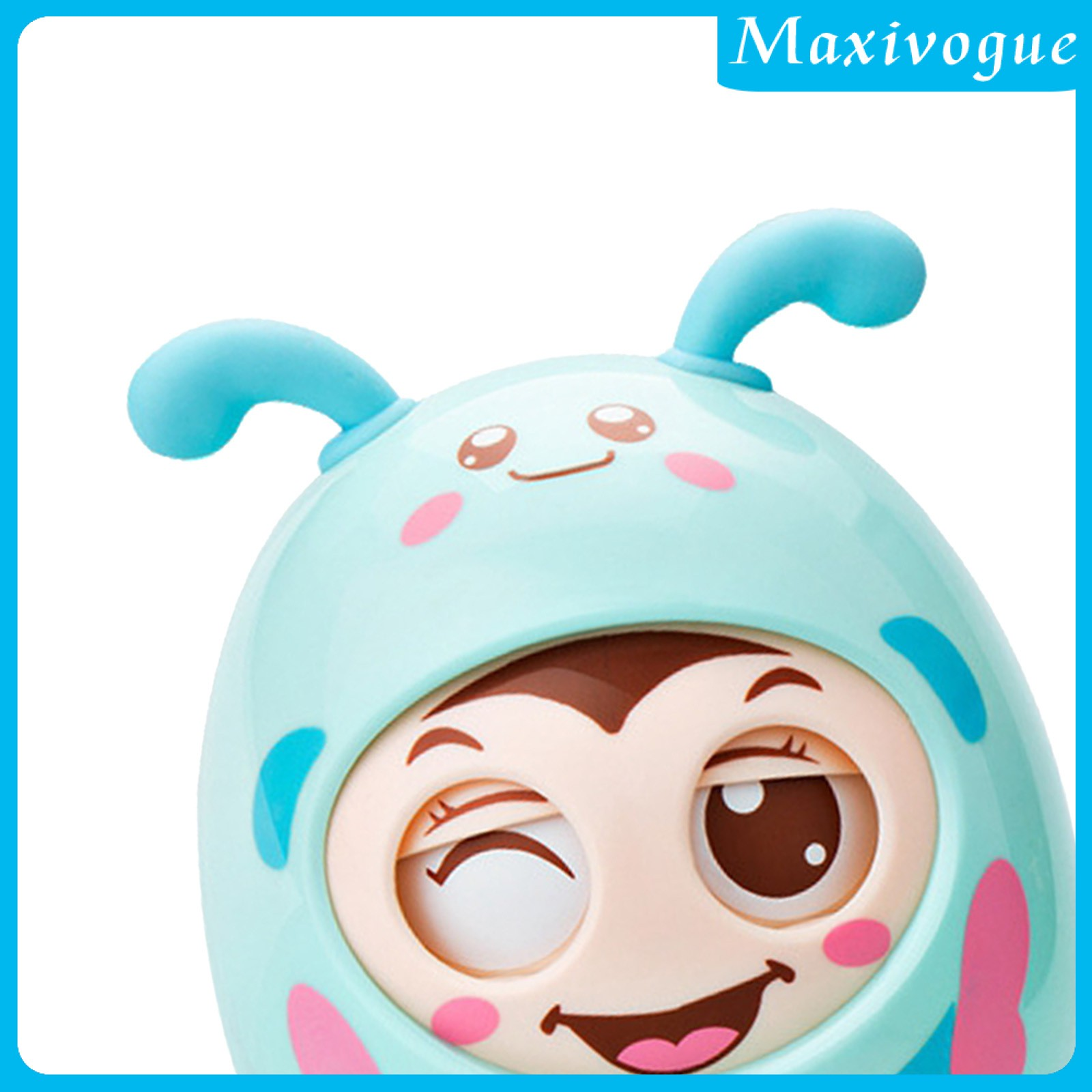 [MAXIVOGUE] Safety Roly-Poly Tumbler Infant Baby Toys Best Gifts Tummy Time Toys