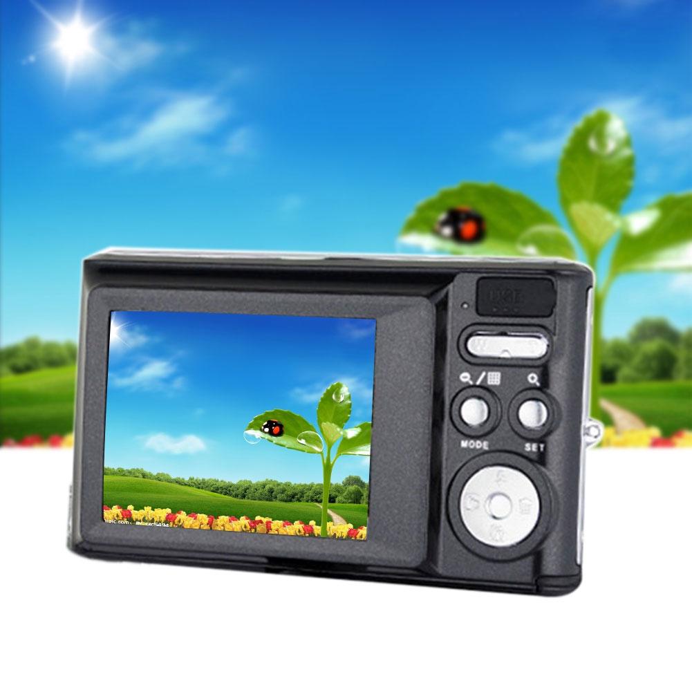C4 HD Ultra Thin Zoom Face Detection LCD Display Anti Shake Travel Mini Digital Camera