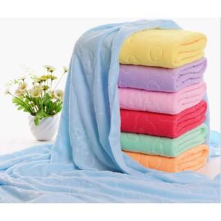Khăn tắm gấu nhiều màu kt 70x140cm