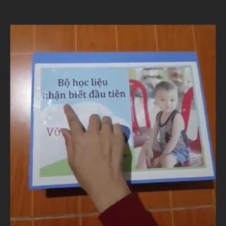 Bộ học liệu cho bé