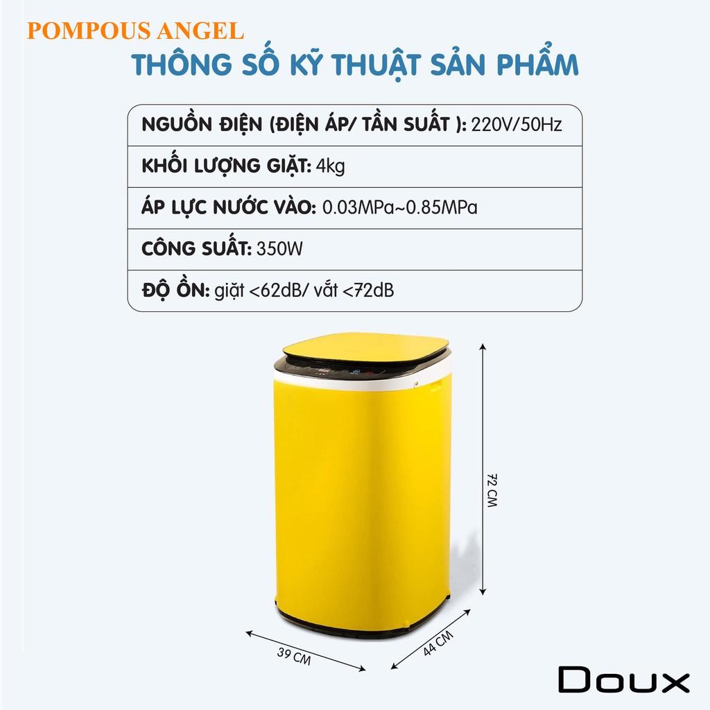 Máy giặt mini tự động giặt vắt sấy khô 4kg (vthm9)