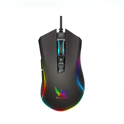 Chuột Gaming ZADEZ CHIPSET PIXART GT-615PM