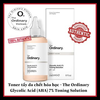 [Mã COSHOT12 giảm 10% đơn 350K] Toner tẩy da chết hóa học - The Ordinary Glycolic Acid (AHA) 7% Toning Solution thumbnail
