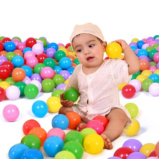 25/50/100 Ocean Ball Soft Plastic Baby kid child Toy Swim Pit pool Game Colorful