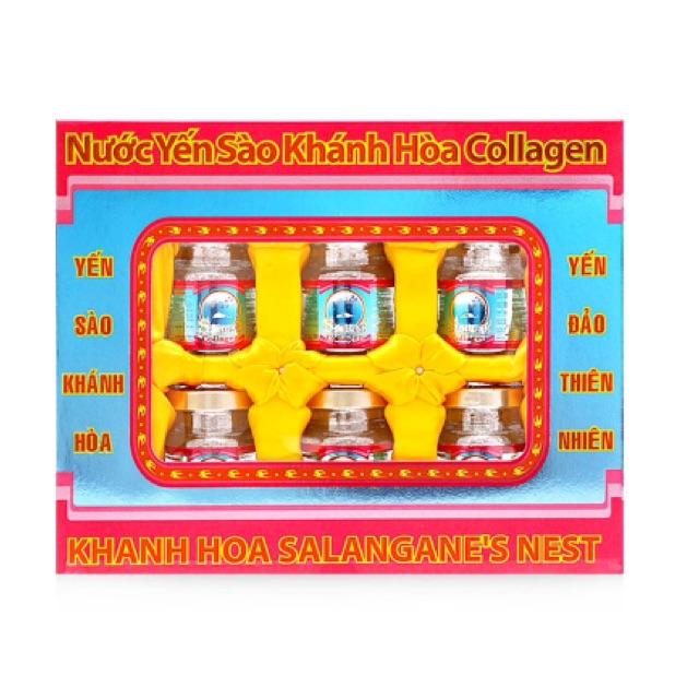 Nước yến sào Collagen Sanest 6 lọ