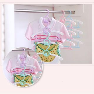 Móc phơi quần áo trẻ sơ sinh bằng nhựa