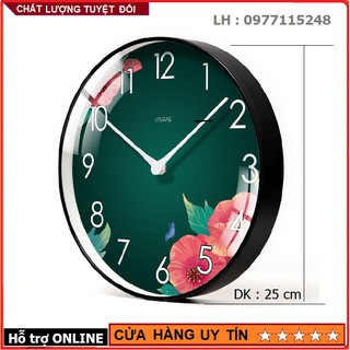 Đồng Hồ Treo Tường Kim Trôi Mẫu Hiện Đại