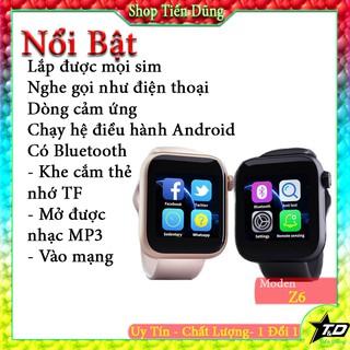 Đồng hồ thông minh z6 smart watch kết nối Bluetooth lắp sim