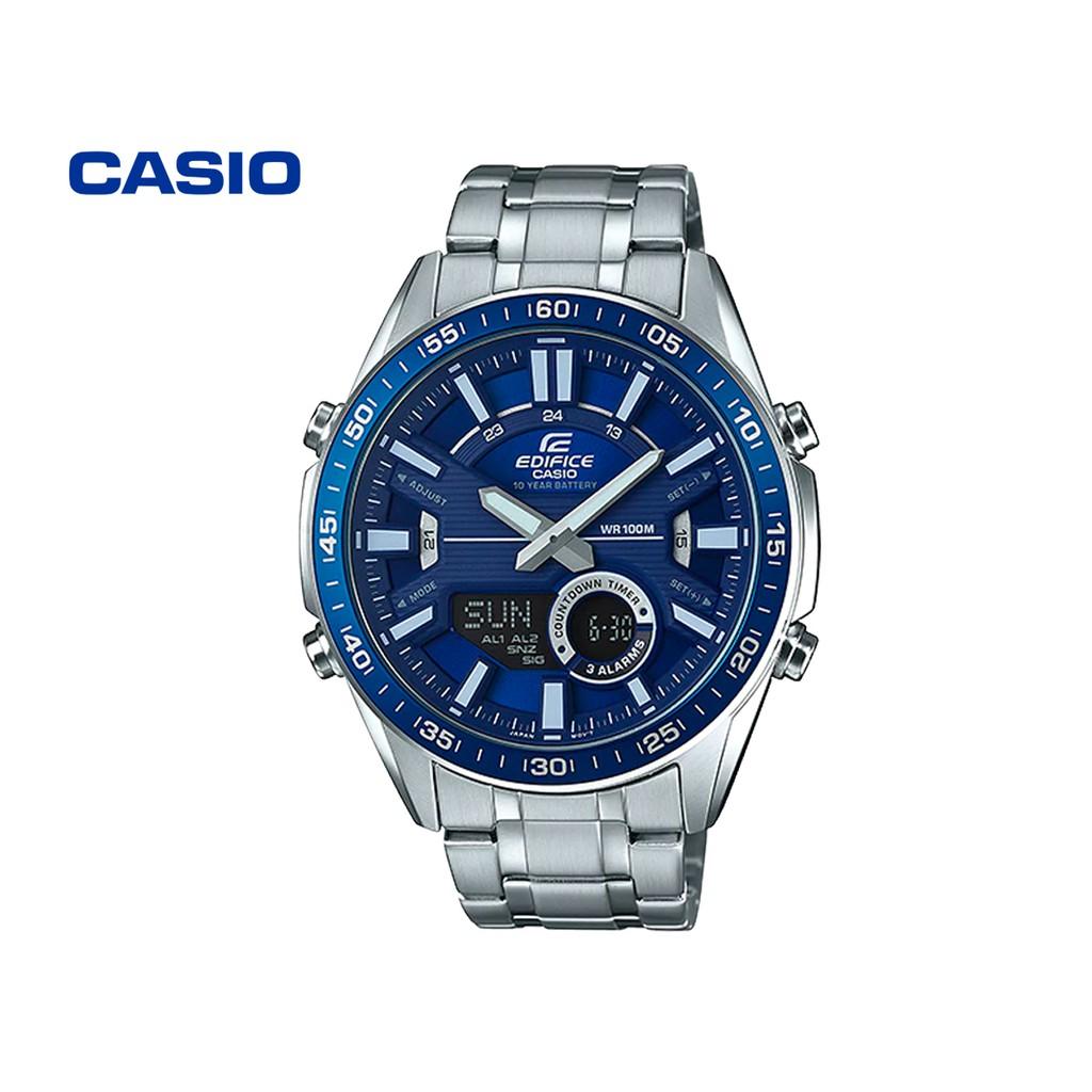 Đồng hồ nam CASIO Edifice EFV-C100D-2AVDF chính hãng - Bảo hành 1 năm, Thay pin miễn
