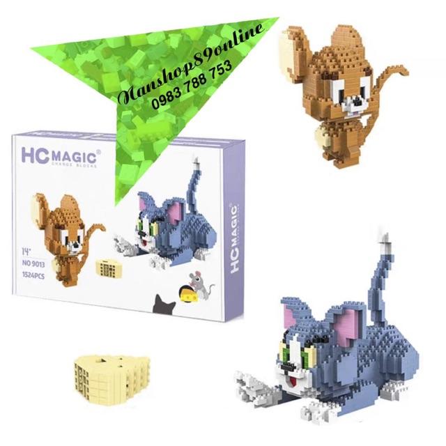ĐỒ CHƠI LẮP RÁP LEGO 3D Blocks Mini •TOM & JERRY•