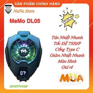 Quạt Tản Nhiệt Điện Thoại MEMO DL05 -Siêu Lạnh . Màn Hình Hiện Thị Và Led RGB