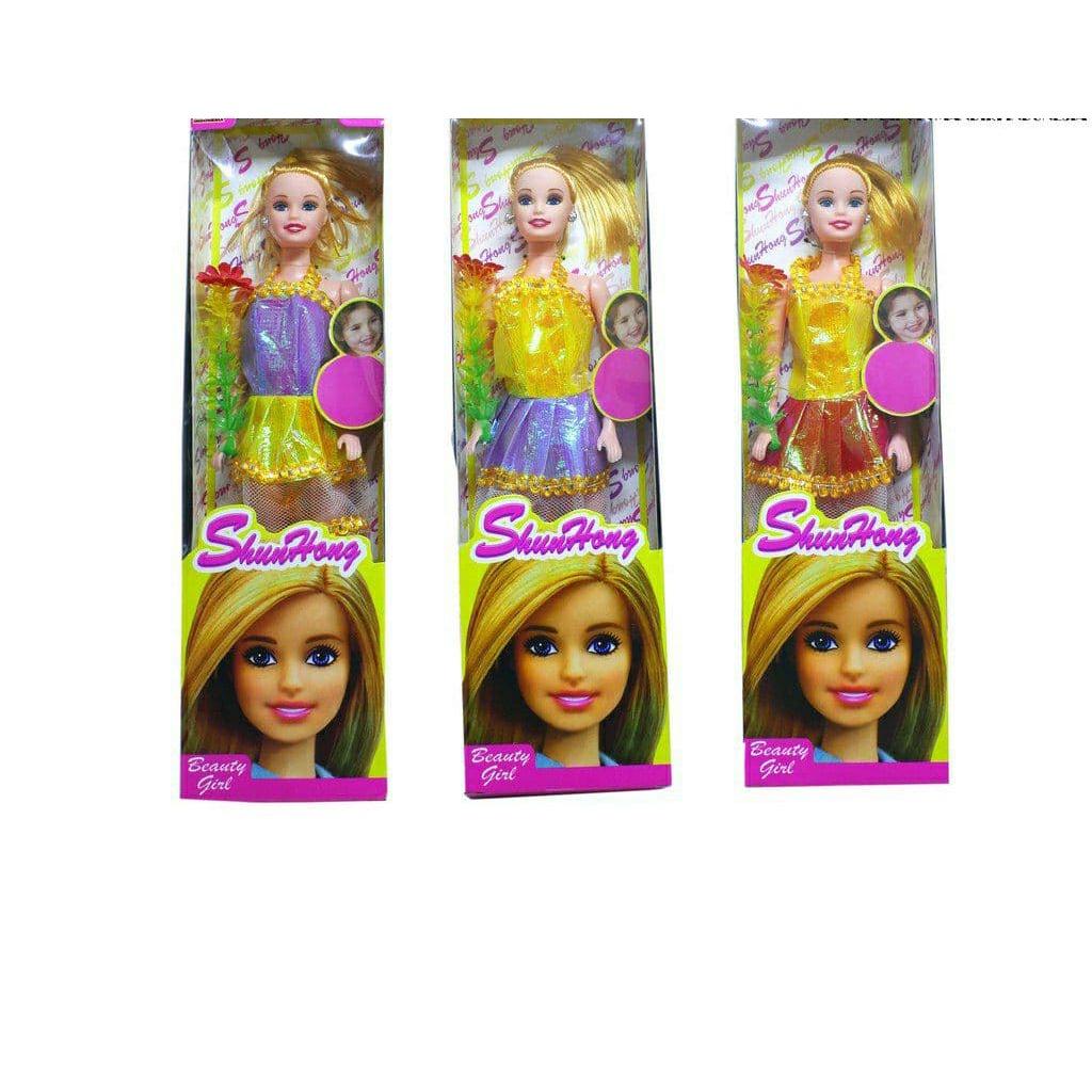 Búp Bê Barbie 8514-b Xinh Đẹp Cho Bé Gái