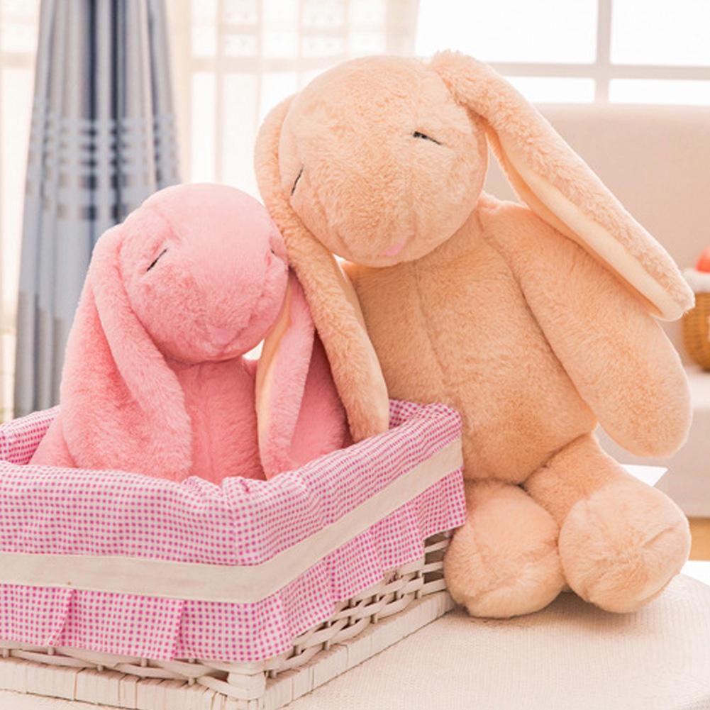 Animal Soft Stuffed Baby Sleeping Rabbit Toys Cartoon Kids Gift Cute Plush Doll