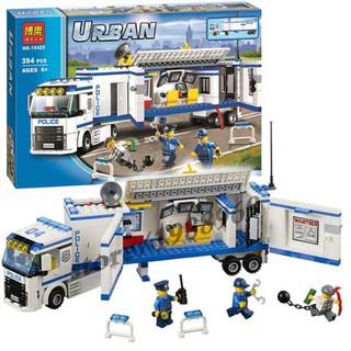 GIÁ RẺ NHẤT -Đồ chơi Lego urban 10420 – xe lưu động cảnh sát công nghệ cao